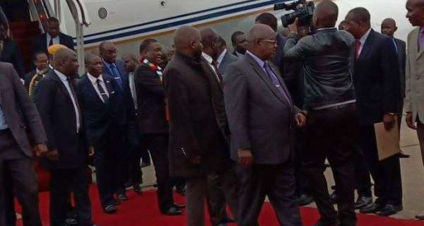 President Mnangagwa Back From UAE -ZimOneNews